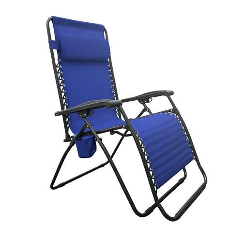 Zero Gravity Chair, Blue, swatch