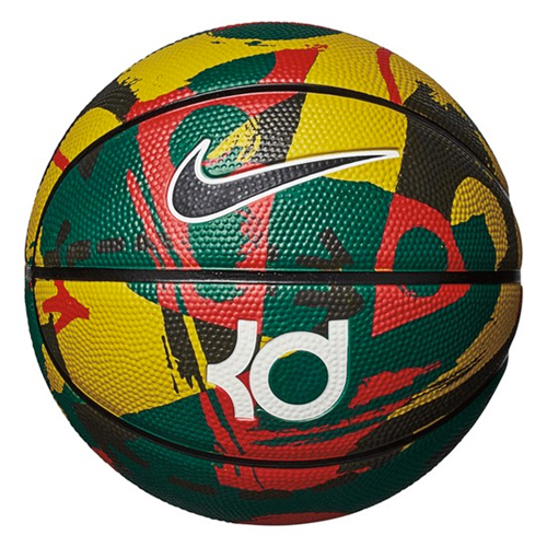 Kd Mini Basketball, Gold/Black, swatch