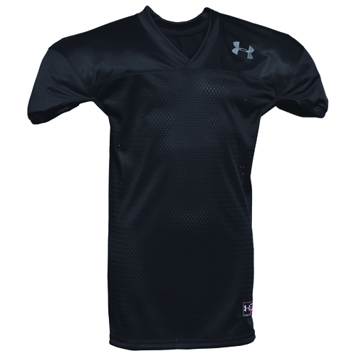 Youth Practice Football Jersey, Black/White, swatch