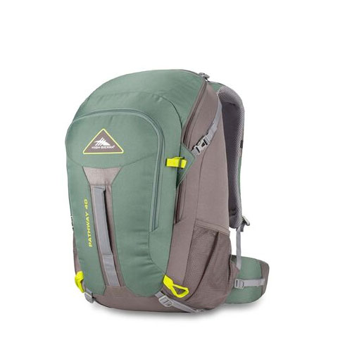 Pathway 40L Frame Pack, Green/Silver, swatch