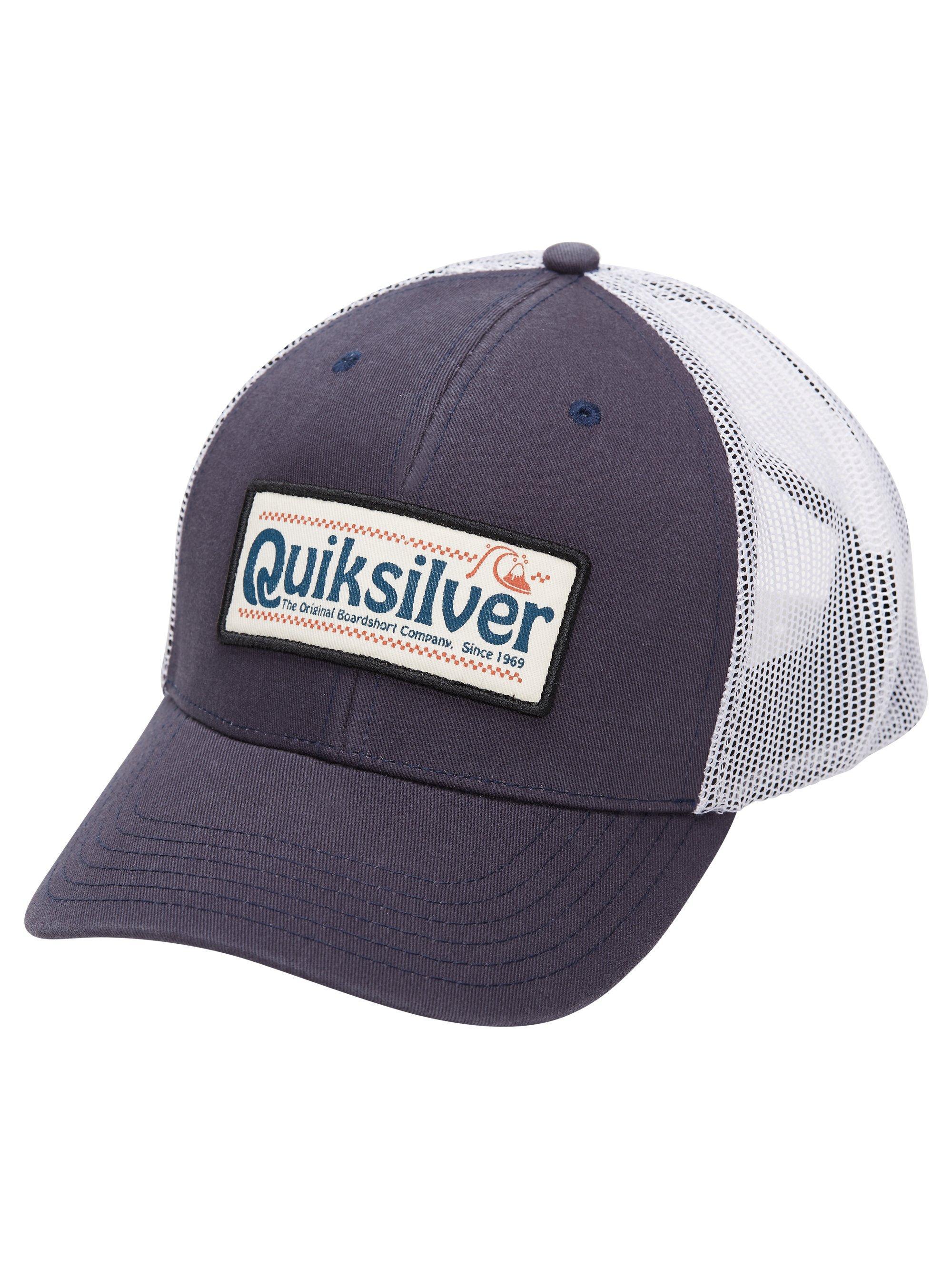 Men's Big Rigger Trucker Hat, Navy/White, swatch