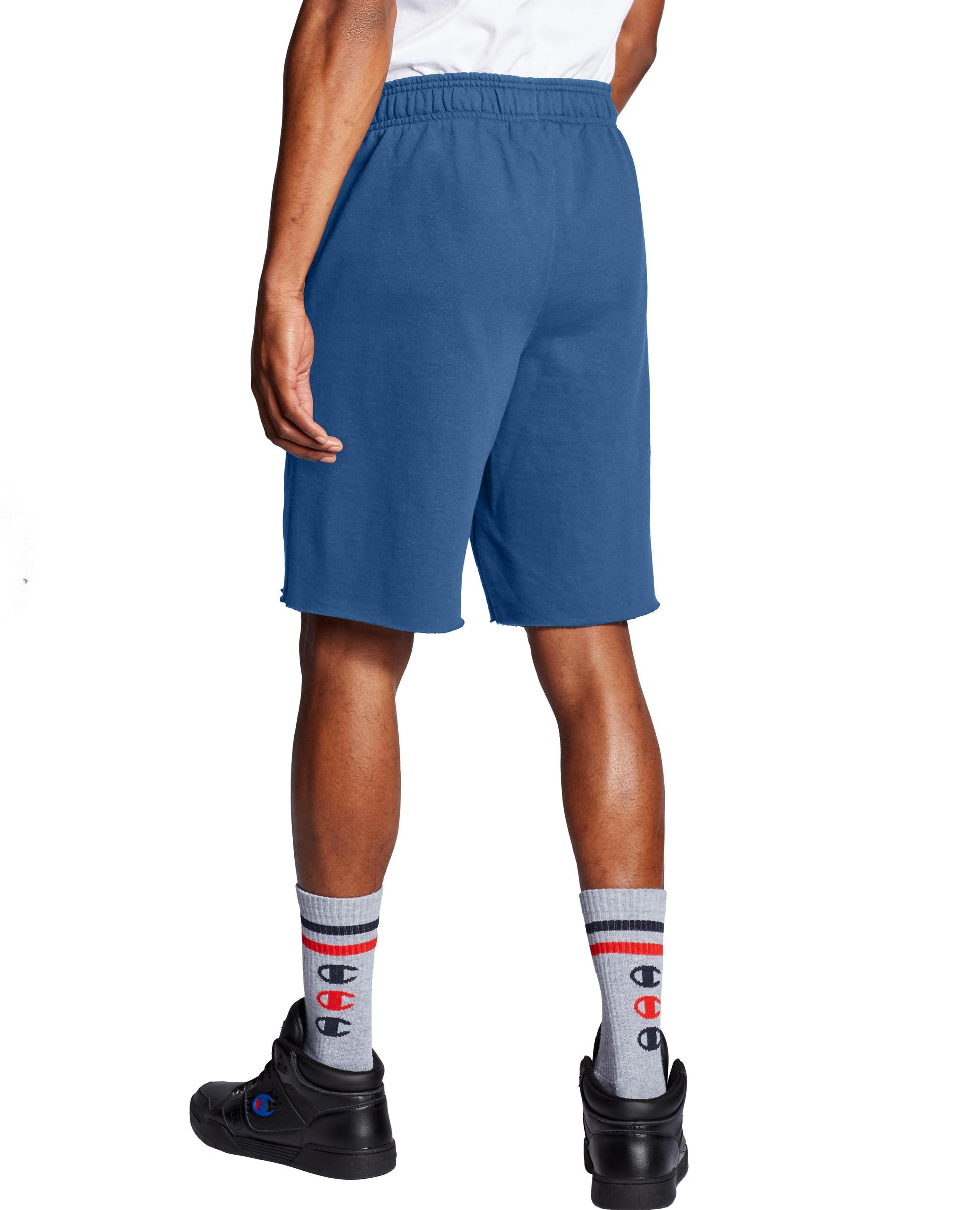 Men's Powerblend Fleece Shorts, Navy, swatch