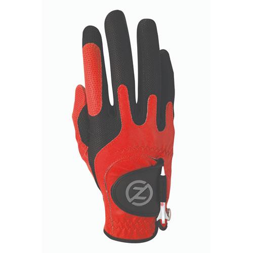 Men's Right Hand Golf Glove, Red, swatch