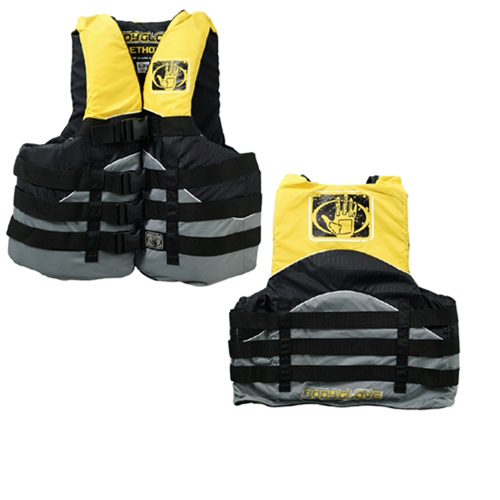 Stealth Neoprene Vest, Gold, Yellow, swatch