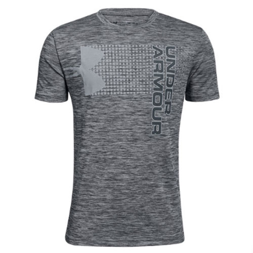 Boys' Crossfade T-Shirt, Charcoal,Smoke,Steel, swatch