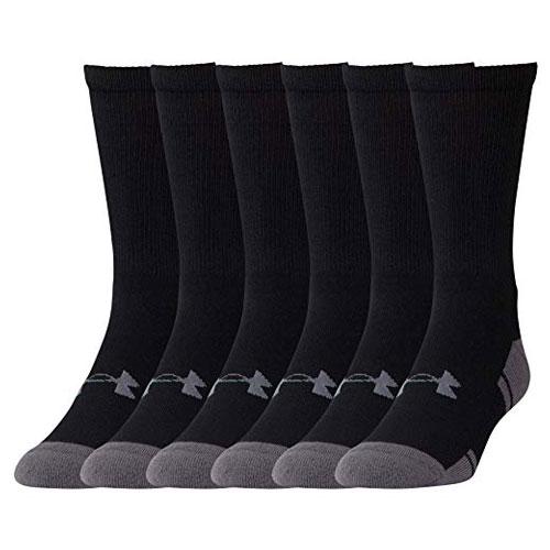 Resistor 3.0 Crew Sock 6-Pack, Black, swatch