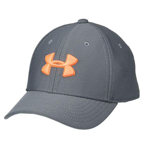 Boys' Blitzing 3.0 Cap, Gray/Orange, swatch