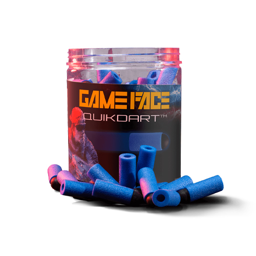 GAME FACE PRIME QUIK DARTS, Blue, swatch