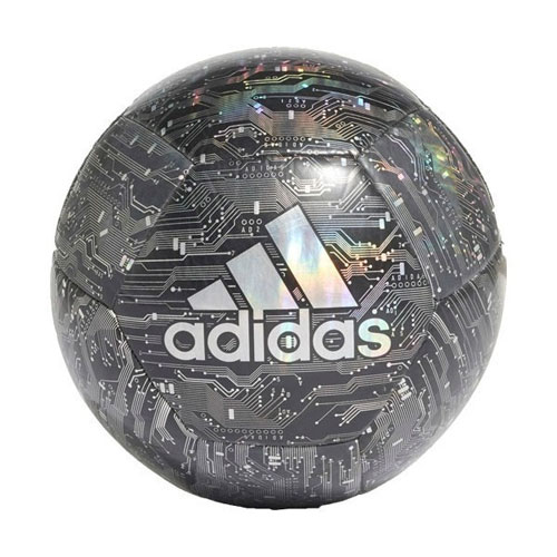 CPT Soccer Ball, Black/Silver, swatch