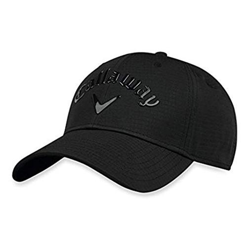 Women's Uptown Adjustable Golf Hat, Black, swatch