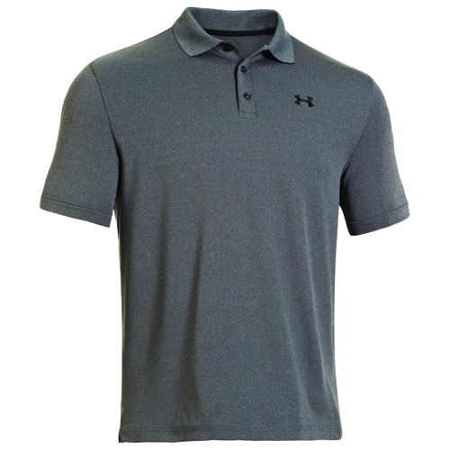 Men's Performance Polo Golf Shirt, Charcoal,Smoke,Steel, swatch
