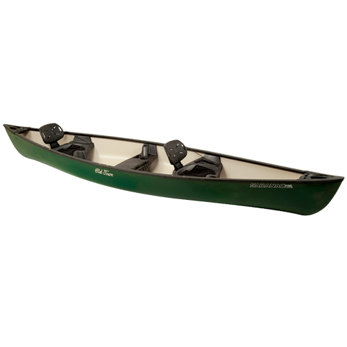 Saranac 146 XT Canoe, Green, swatch