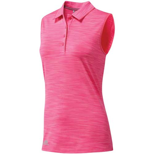 Women's Ultimate 365 Sleeveless Golf Polo, Pink, swatch