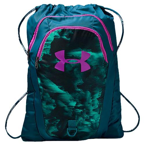 Undeniable Seasonal 2.0 Sackpack, Teal/Purple, swatch