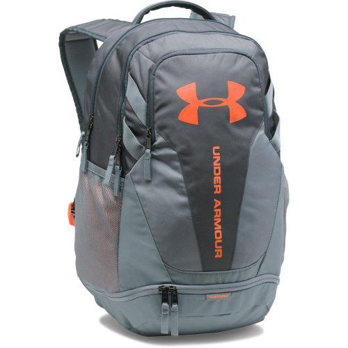 Hustle 3.0 Backpack, Gray/Orange, swatch