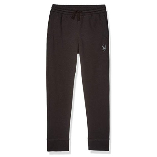 Boys' Basic Joggers, Black, swatch