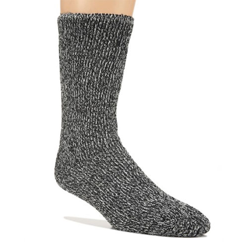 Men's Ultra Warm Fireside Sock, Charcoal,Smoke,Steel, swatch