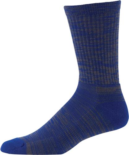 Men's Twist Tech Crew Socks, Royal Bl,Sapphire,Marine, swatch