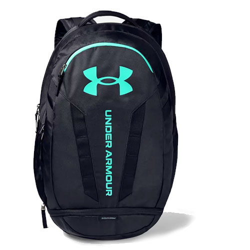 Hustle Backpack, Black/Teal, swatch