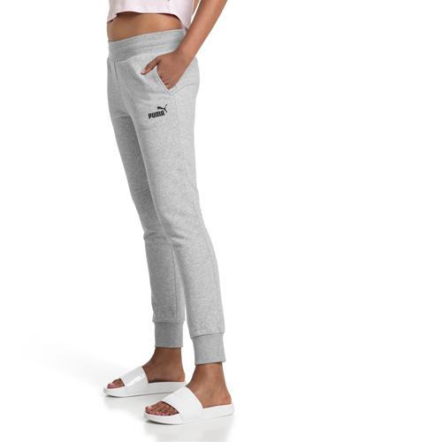 Women's Essentials Fleece Pants, Heather Gray, swatch