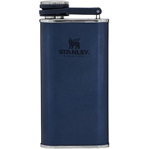 8 Oz Flask, Navy, swatch