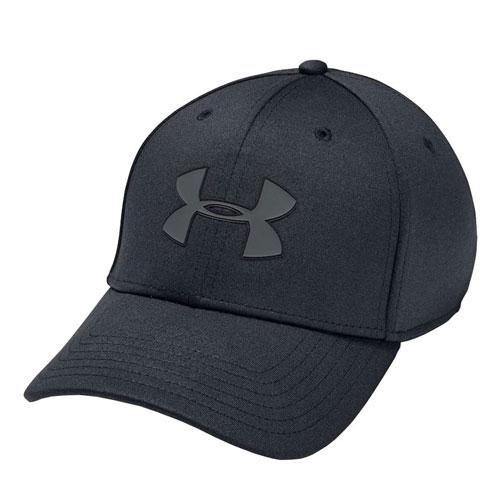 Men's Armour Twist Stretch Cap, Black, swatch