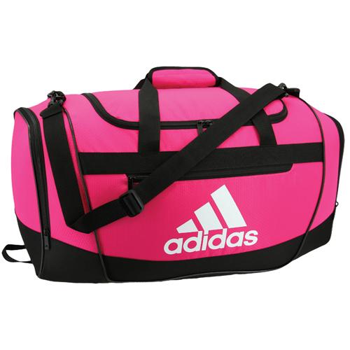 Defender III Small Duffel Bag, Hot Pink/Black, swatch
