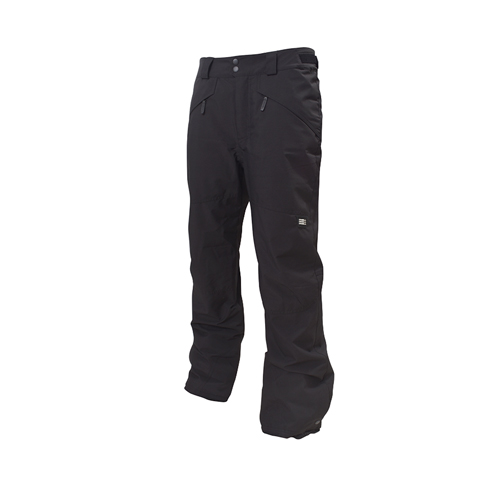 Men's Hammer Insulated Snowpants, Black, swatch