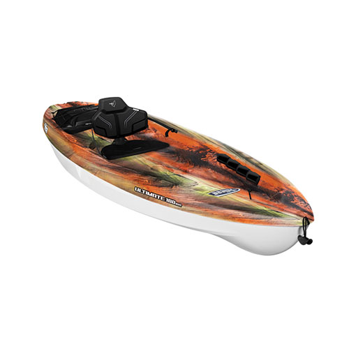 Ultimate 100NXT Sit-On Kayak, Red/Brown, swatch