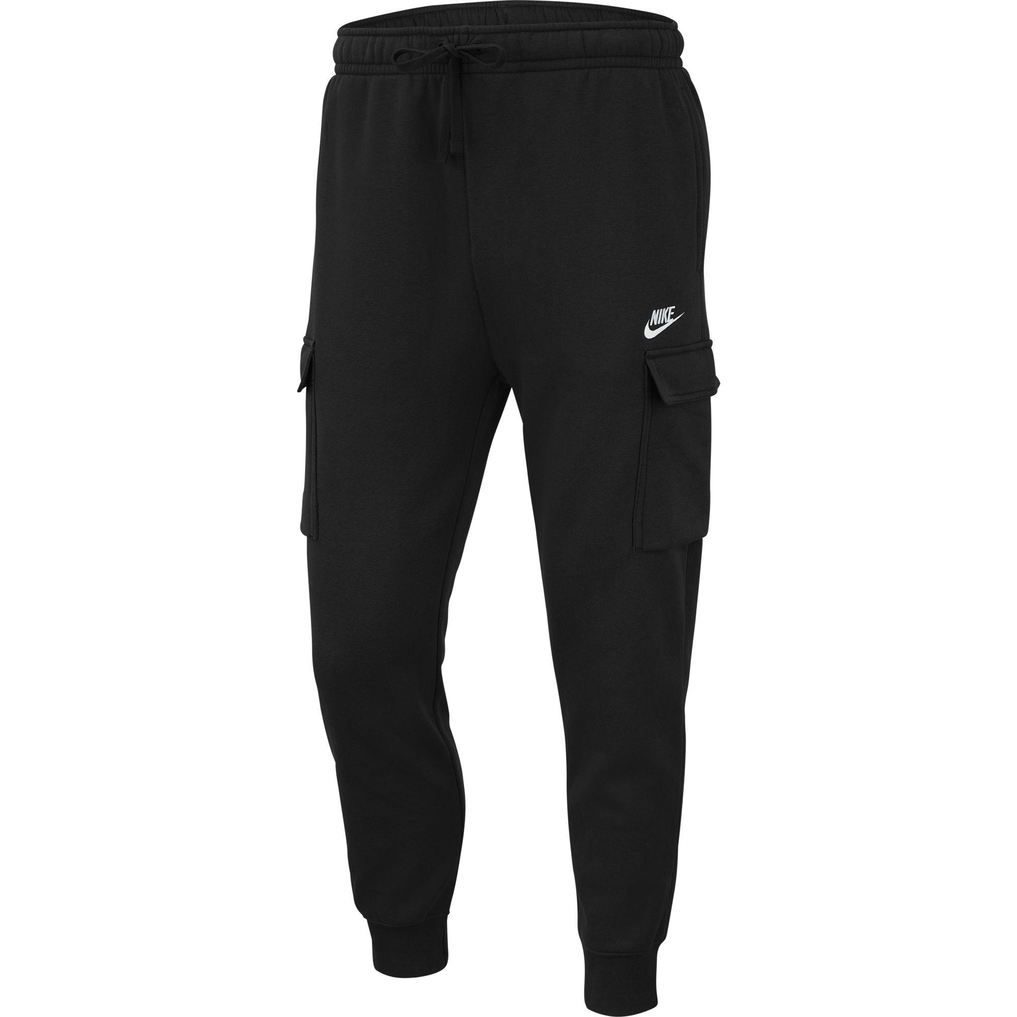 Men's Sportswear Club Fleece Cargo Pant, Black, swatch