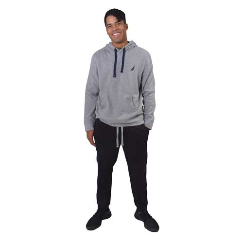 Men's Fleece Pant, Black, swatch