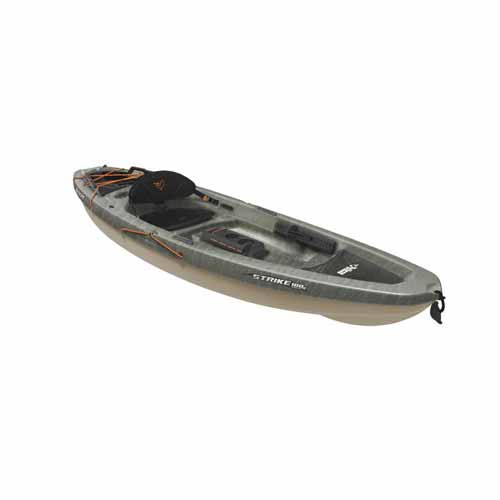 Strike 100X Sit-On-Top Angler Kayak, Gray, swatch