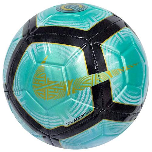 CR7 Strike Soccer Ball, Green/Blk, swatch