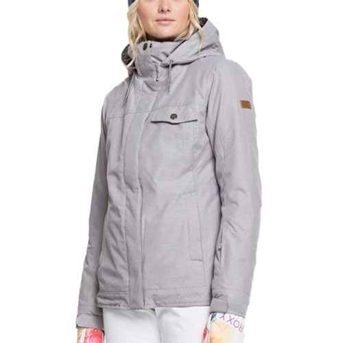 Women's Billie Jacket, Heather Gray, swatch
