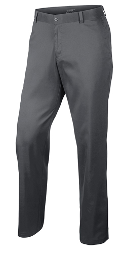 Men's Flat Front Flex Golf Pants, Gray, swatch