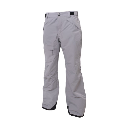 Men's Rider Insulated Ski Pant, Heather Gray, swatch