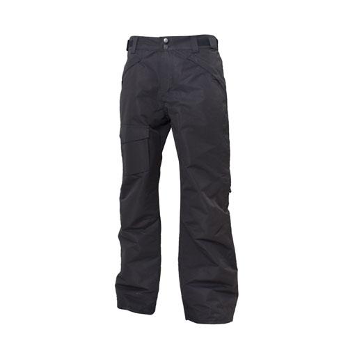 Men's Rider Insulated Ski Pant, Black, swatch