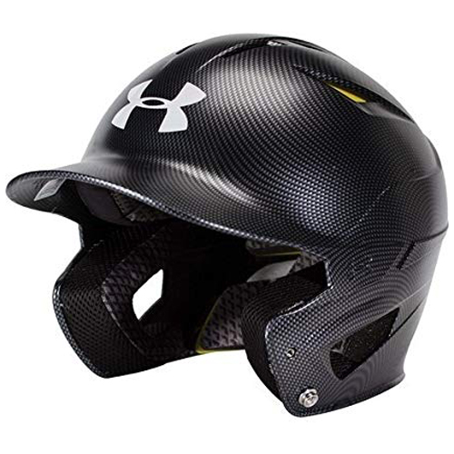 Classic Carbon Batting Helmet, Black, swatch