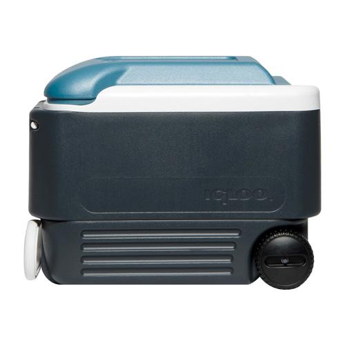 40 Quart Roller Cooler, Gray, swatch