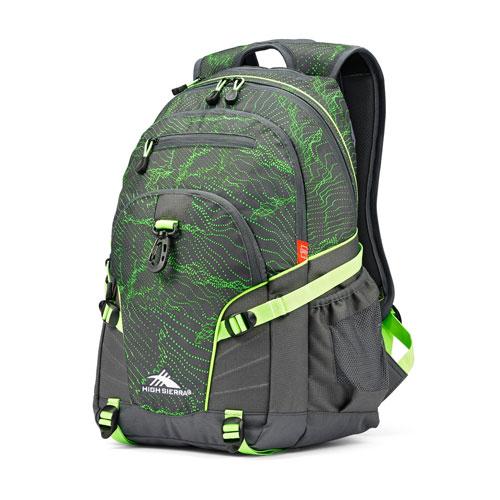 Loop Daypack, Green Patterned, swatch
