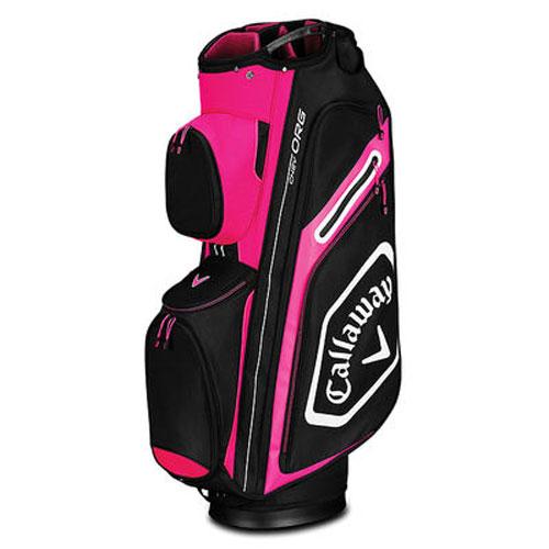 Chev Org Cart Bag, Pink/Black/White, swatch