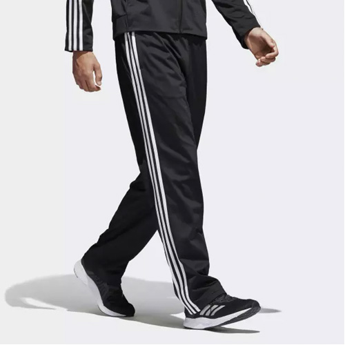 Men's Essential 3-Stripes Pant, Black/White, swatch