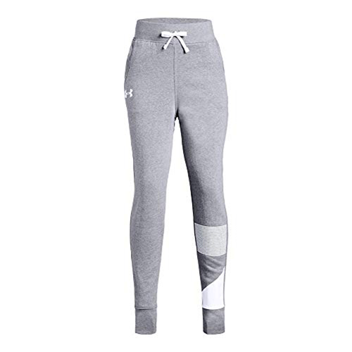 Big Girl's Rival Jogger Pant, Heather Gray, swatch