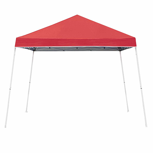 10 x 10 Slant Leg Canopy, Red, swatch