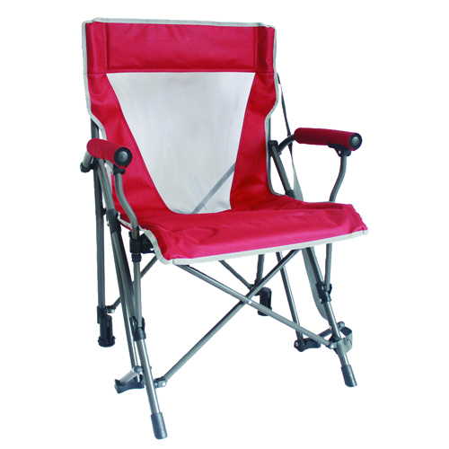 Harm Arm Rocking Chair, Red, swatch
