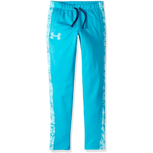 Girls' Armour Fleece Pant, Blue, swatch