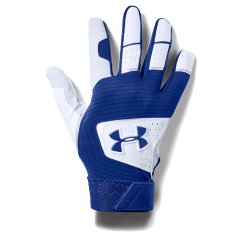 Youth Clean Up Baseball Glove, Royal Blue/White, swatch