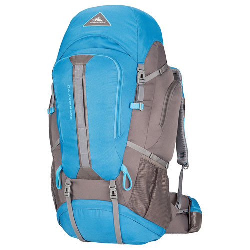 Pathway 70L Hiking Pack, Blue/Gray, swatch