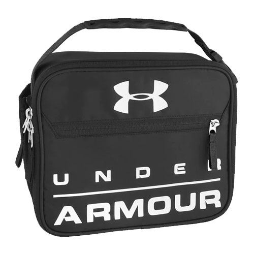 UA Scrimmage Lunch Box, Black, swatch