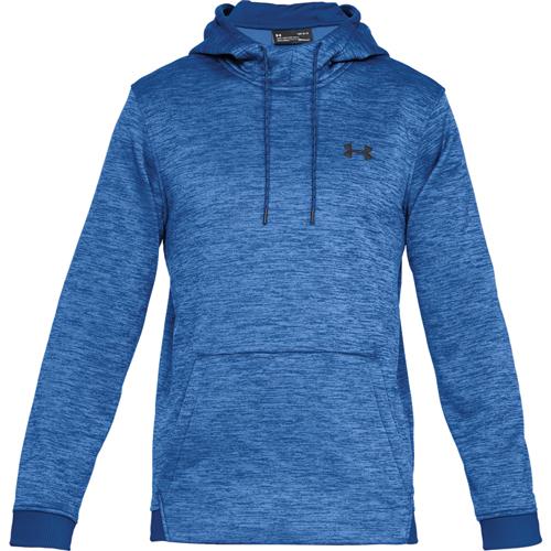 Men's Armour Fleece Twist Hoodie, Blue, swatch